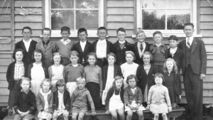 Nance Hyland is in the front row, far right.