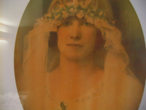 Margaret Josephine Hyland (nee Stewart) Born 3rd February 1904 Died 23rd August 1933 At rest in Garrawarra Cemetery Never Forgotten Pictured on her wedding day